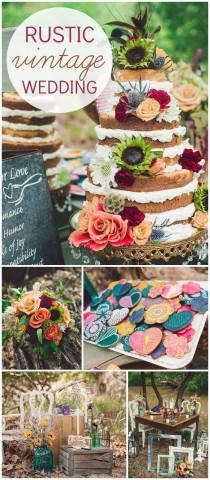 "wedding photo - Boho Chic / Wedding ""Bohemian Bridal Bliss: Inspiration Shoot"""