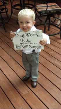 wedding photo - Stop It: The 14 Cutest Ring Bearers And Flowers Girls That Ever Were