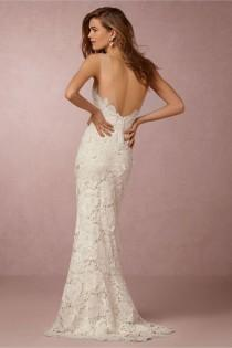 wedding photo - Low Back Gown