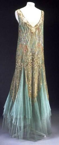 wedding photo - Evening Dress, Charles Frederick Worth