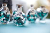 wedding photo - Apothecary Jars Filled With Candy - Dreaming All Day