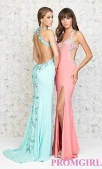 wedding photo - Long Open Back Sweetheart Dress by Madison James - Brand Prom Dresses
