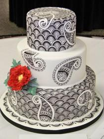 wedding photo - Gallery Of Wedding Cakes :: The Grand Finale