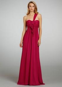 wedding photo - Jim Hjelm Occasions 5311 - Burgundy Evening Dresses