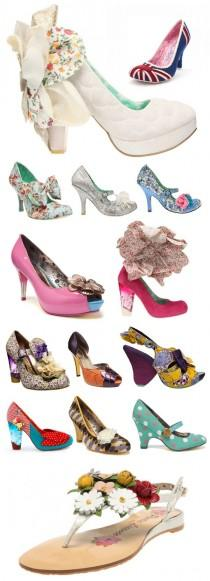 wedding photo - Irregular Choice Wedding Shoes - Belle Amour