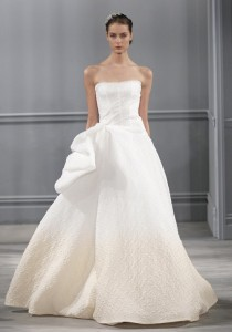 wedding photo - Unique Cheap 2014 New Style Monique Lhuillier Paris Wedding Dress - Cheap Discount Evening Gowns