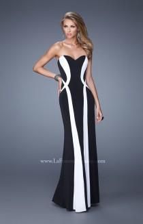 wedding photo - La Femme - 21028 - Elegant Evening Dresses