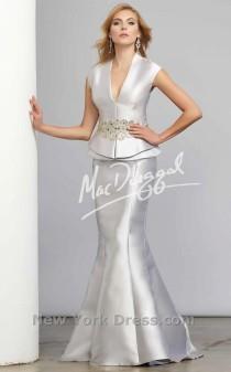 wedding photo - Mac Duggal 80363C - Charming Wedding Party Dresses