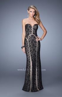 wedding photo - La Femme - 21376 - Elegant Evening Dresses