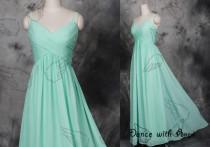 wedding photo - Mint simple prom dresses,prom dress,long prom dress,bridesmaid dresses,evening dresses,bridesmaid dress,evening dress