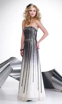 wedding photo - Cheap A-line Floor-length Empire Beaded 2013 Top Prom/evening/cocktail Dress Alyce Paris 8902 - Cheap Discount Evening Gowns