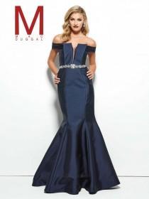 wedding photo - Mac Duggal Black White Red Style 48342R -  Designer Wedding Dresses