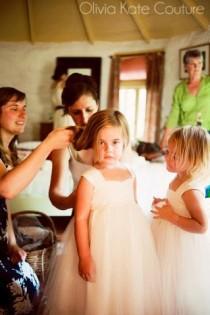 wedding photo - Flower Girl Dress Tulle
