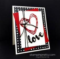 wedding photo - Stampin' Up! Sunshine Wishes Love Card