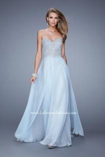 wedding photo - La Femme 20888 - Elegant Evening Dresses