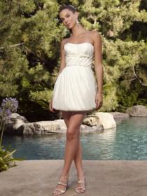 wedding photo - Casablanca 1973 Bridal Gown (2011) (CB10_1973BG) - Crazy Sale Formal Dresses