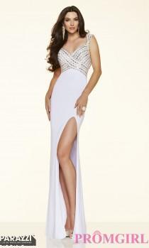 wedding photo - Long Sweetheart Sleeveless Mori Lee Prom Dress - Discount Evening Dresses