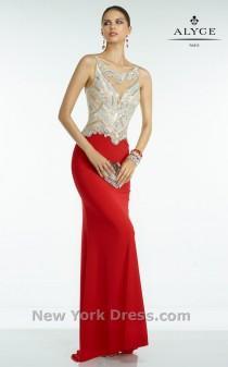 wedding photo - Alyce 6500 - Charming Wedding Party Dresses