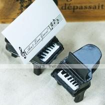 wedding photo - Beter Gifts® Wedding Décor - 4pcs Piano Place Card Holders, Escort Cards Party Decorations