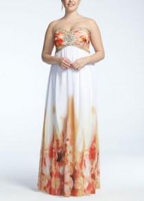 wedding photo - 55178DW - Colorful Prom Dresses