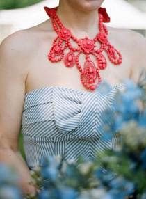wedding photo - Statement Necklaces