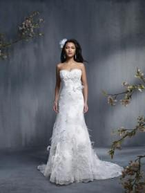 wedding photo - Sapphire by Alfred Angelo 859 - Branded Bridal Gowns
