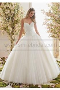 wedding photo - Mori Lee Wedding Dresses Style 6838 - Wedding Dresses 2016 - Wedding Dresses