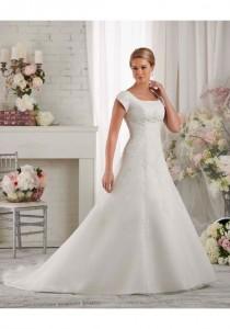 wedding photo - Bliss by Bonny Bridal 2416 - Charming Custom-made Dresses