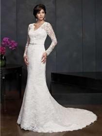 wedding photo - Kenneth Winston Wedding Dress Style No. 15422 - Brand Wedding Dresses