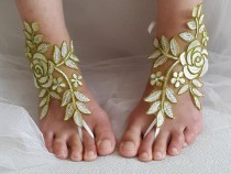 wedding photo - bridal accessories, lace,green wedding sandals, shoes, free shipping! Anklet, bridal sandals, bridesmaids, wedding gifts.......