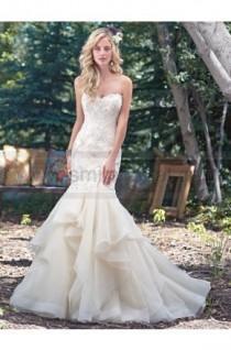 wedding photo - Maggie Sottero Wedding Dresses - Style Malina 6MW181 - Wedding Dresses 2016 - Wedding Dresses