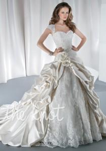 wedding photo - Demetrios 4314 Wedding Dress - The Knot - Formal Bridesmaid Dresses 2016