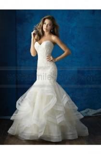 wedding photo - Allure Bridals Wedding Dress Style 9364 - Wedding Dresses 2016 - Wedding Dresses