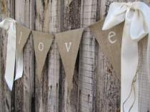 wedding photo - I Like This For The Fence At The One Venue. Burlap Wedding Ideas