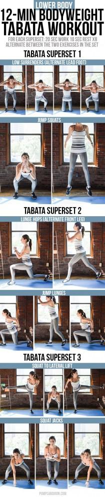 wedding photo - 12-Minute Bodyweight Tabata Workout Series: Lower Body (Legs & Glutes)
