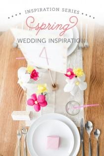 wedding photo - Spring Wedding Inspiration And DIYs