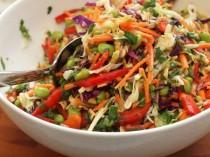 wedding photo - Asian Slaw With Ginger-Peanut Dressing
