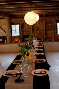 wedding photo - Table Settings And Tablescapes For Outdoor Events, Receptions, Parties
