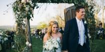 wedding photo - Olympian Shawn Johnson's Rustic-Chic Wedding Deserves A Gold Medal