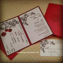 wedding photo - MonEliza Designs: Dallas Custom Invitations