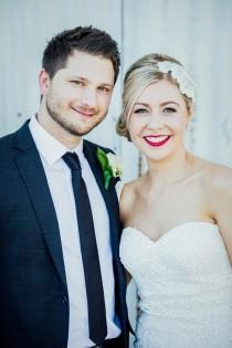 wedding photo - Sweet Swan Valley Wedding - Polka Dot Bride