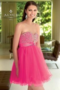 wedding photo - Alyce Paris - Style 4310 - Formal Day Dresses