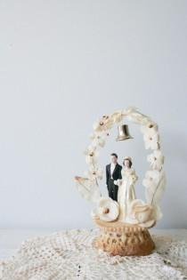 wedding photo - Chic Vintage 1950s Wedding