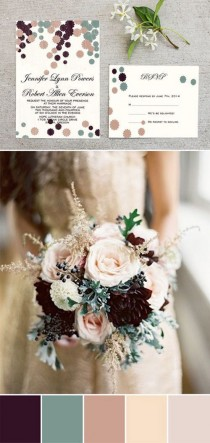 wedding photo - Top 10 Fall Wedding Invitations For Autumn Weddings