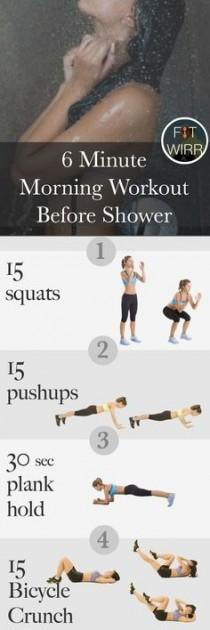 wedding photo - This Quick 6 Minute Morning Workout Routine Is Perfect For Busy People