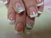 wedding photo - Gel Nails - Cute Nail Arts