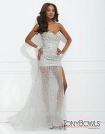 wedding photo - Tony Bowls Paris - Style 114727 - Formal Day Dresses