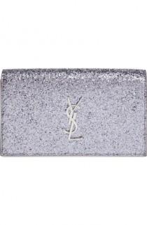 wedding photo - YSL Glitter Clutch