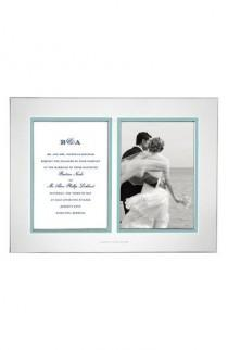 wedding photo - 'Take The Cake' Double Invitation Bridal Picture Frame