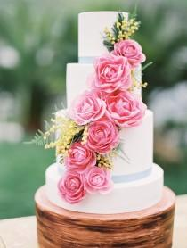 wedding photo - Fresh Summer Wedding Cake Ideas